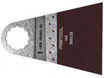 5x Univerzální pilový plátek pro Festool OS 400 (Festool USB 50/65/Bi 5x) - 50x65mm