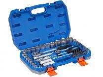 """60-dílná hlavic Narex SH 60-1412 - 1/4"""" a 1/2"""", klíč, kufr"""