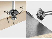 Fazetovací fréza s vyměnit. břitovými destičkami pro frézky Festool OF 1010, OFK 700, MFK 700 - 27mm