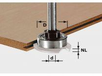 Frézovací vřeteno pro frézky Festool OF 1010, OFK 700, MFK 700 (Festool S8 1,5-5 KL28) - 28mm