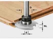Frézovací vřeteno pro frézky Festool OF 1010, OFK 700, MFK 700 (Festool S8 1,5-5 KL16) - 16mm