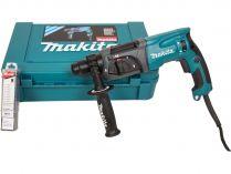Vrtací a sekací kladivo Makita HR2470X16 - SDS-Plus, 780W, 2.4J, 2.9kg, v kufru, sada D-46361