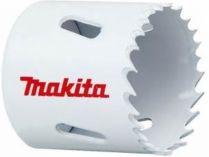 """Vrtací korunka - děrovka na vyřezávání velmi přesných kruhových otvorů ve dřevě, hliníku, sádrokartonu, umělé hmotě, barevných kovech nebo tenké oceli Makita P-52526 pr. 33mm, BiM, 5/8"""" nebo SDS-Plus"""