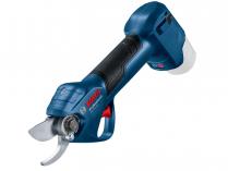 Aku zahradní nůžky Bosch Pro Pruner Professional - 12V, 25mm, 0.8kg, bez akumulátoru a nabíječky (06019K1020)