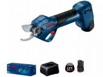 Aku zahradní nůžky Bosch Pro Pruner Professional - 2x aku 12V/3.0Ah, 25mm, 0.8kg (06019K1021)
