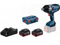 "Bosch GDS 18V-1050 H Professional - 2x 18V/5.0Ah, 3/4"", 1700Nm, 2.9kg, kufr L-BOXX 136"