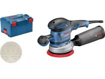 Bosch GEX 40-150 Professional - 400W, 150mm, 2.4kg, kufr, excentrická bruska