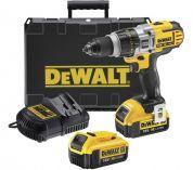 DeWALT DCD980M2 - 2x 18V/4.0Ah XR Li-ion, 55Nm, 3 rychl., 2.4kg, kufr, aku vrtačka bez příklepu
