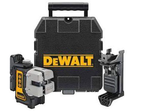 Profi křížový laser DeWALT DW089K 3-bodový laser