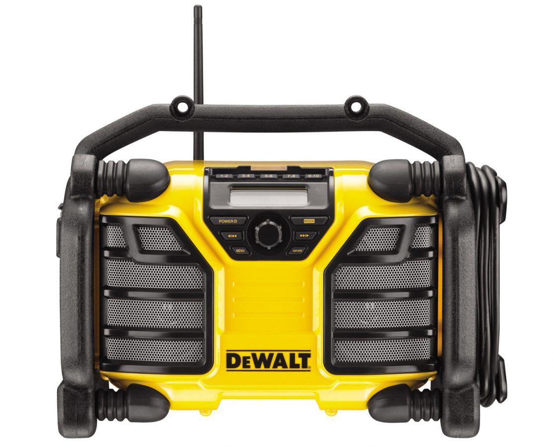 DCR017 Aku i síťové rádio / nabíječka DeWALT