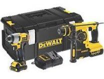 Sada aku nářadí DeWalt DCK291MS: DCH213 + DCF815 (Combo sada aku vrtací kladivo + rázový šroubovák)