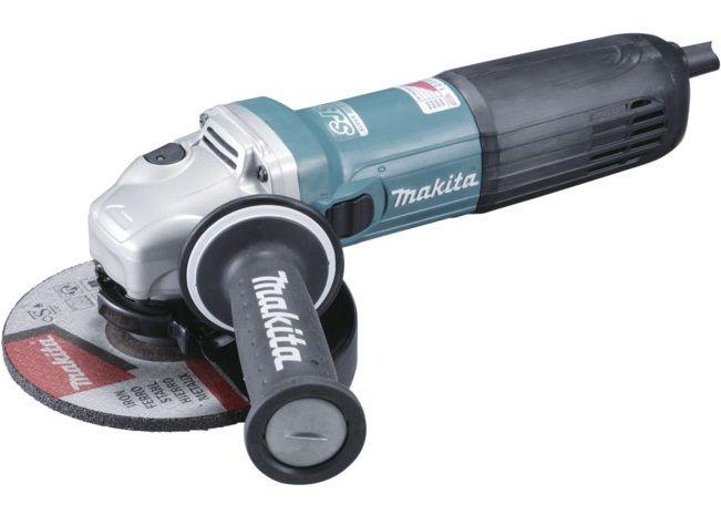 Makita GA6040C01 Úhlová bruska 150mm, s regulací, 1400W, SJS
