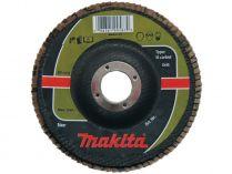 Lamelový brusný kotouč Makita P-65436 - 180x22.2mm, zrnitost K80