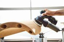 Bezuhlíková aku excentrická bruska Festool ETSC 125 Li 3,1 I-Plus - 2x aku 18V/3.1Ah, 125mm, 1.4kg, kufr SYS3 M 187 (576376)