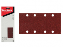 50x Brusný papír Makita P-36192 - 93x228mm, zr. K60, neděrovaný