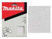 10x Brusný papír Makita P-36544 - 114x140mm, zr. K100, neděrovaný