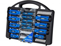 34-dílná sada profesionálních ručních šroubováků Narex 34-Tool Box