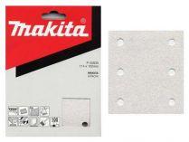 50x Brusný papír Makita P-42553 - 114x102mm, zr. K150