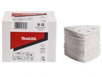 50x Brusný papír Makita P-42824 - 94x94x94mm, zr. K150