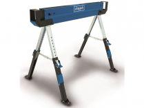 Scheppach MWB 600 Skládací stavební koza - stůl pro pokosové pily, 61.8-82cm, nosnost 600kg