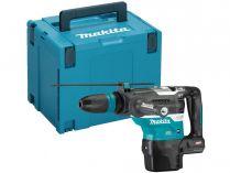 Bezuhlíkové kombi aku kladivo Makita HR005GZ01 - 40V, 8J, SDS-Max, 6.7kg, kufr, bez aku