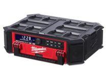 Milwaukee PACKOUT M18 PRCDAB+-0 - 18V, aku stavební rádio bez aku