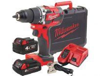 Milwaukee M18 CBLPD-422C - 1x 18V/4.0Ah + 1x 18V/2.0Ah, 60Nm, 2 rychl., 1.8kg, kufr