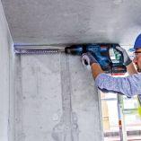 Bezuhlíkové kombi aku kladivo Bosch GBH 18V-36 C BiTurbo Professional - 2x aku 18V/8.0Ah, 5.8J, SDS-Max, 6.1kg, kufr (061191502C) Bosch PROFI