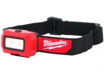 Milwaukee HL2-LED - 3x AAA, 350lm, svítilna/čelovka