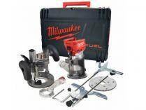 Milwaukee M18 FTR-502X - 2x 18V/5.0Ah, 6/6.35mm, 3.6kg, kufr, bezuhlíková aku kombinovaná frézka