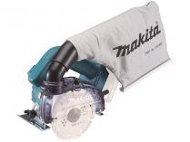Makita DCC500Z - 18V, 125mm, 2.3kg, bez aku, bezuhlíková aku řezačka na dlažbu a sklo