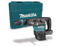 Bezuhlíkové kombi aku kladivo Makita HM001GZ02 - 40V, AWS, 9.4J, SDS-Max, 6.6kg, kufr, bez akumulátoru a nabíječky