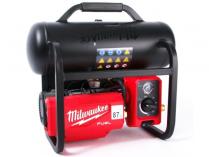 Bezuhlíkový aku kompresor Milwaukee M18 FAC-0 - 18V, 9.31bar, 14.4kg, bez aku