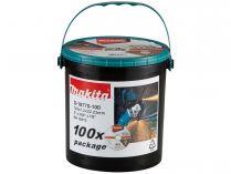 100x Řezný kotouč na nerez Makita D-18770-100 - 125x1.2x2.2mm