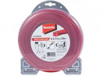 Struna nylonová pro aku stroje Makita (Makita E-01834) - ø2.7mm, 30m, červená