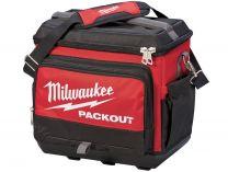 Termo chladící taška Milwaukee Packout s potravinářskou utěsněnou vložkou, udrží chlad až 24h, ramenní popruh (termotaška 4932471132)