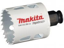 """Vrtací korunka - děrovka na dřevo, plast, hliník, neželezné kovy, ocel a nerezový plech Makita E-03800 - pr. 46 mm, BiM Ezychange, upínání 1/4"""" šestihran nebo SDS-Plus"""