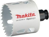 """Vrtací korunka - děrovka na dřevo, plast, hliník, neželezné kovy, ocel a nerezový plech Makita E-03850 - pr. 56 mm, BiM Ezychange, upínání 1/4"""" šestihran nebo SDS-Plus"""