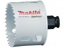 """Vrtací korunka - děrovka na dřevo, plast, hliník, neželezné kovy, ocel a nerezový plech Makita E-03894 - pr. 65 mm, BiM Ezychange, upínání 1/4"""" šestihran nebo SDS-Plus"""
