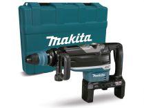 Bezuhlíkové kombi aku kladivo Makita HR006GZ - 2x40V Li-Ion XGT, 21.4J, SDS-Max, AWS, 11.7kg, kufr, bez akumulátoru a nabíječky