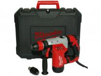 Milwaukee PLH 28 XE Pneumatické vrtací a sekací kladivo SDS-Plus - 800W, 4.8J, 3.7kg, v kufru navíc s 13 mm sklíčidlem (4933446800)