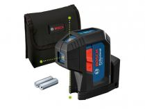 Bodový laser Bosch GPL 3 G Professional - 2x AA, 3 body, 30m, IP65, 0.35kg (0601066N00)
