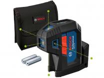 Bodový laser Bosch GPL 5 Professional - 2x AA, 5 bodů, 30m, IP65, 0.35kg (0601066P00)