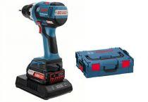 Bosch GSR 18 V-EC (WLC) Professional s bezdrátovým nabíjením - 2x 18V/2.0Ah, 50Nm, 1.8kg, kufr
