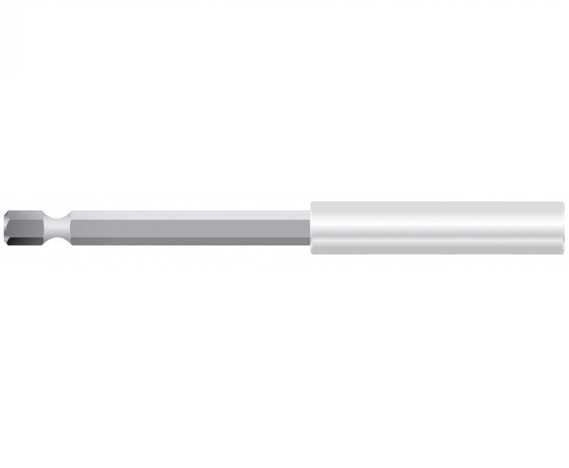 """Prodloužený držák bitů s magnetem WEKADOR 150mm 1/4"""" (magnetický nástavec na bity)"""
