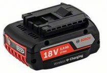 Zásuvný akumulátor Bosch GBA 18 V 2,0 Ah MW-B s bezdrátovým nabíjením Professional