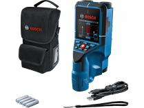 Aku detektor Bosch D-tect 200 C Professional - 4xAA/10.8/12V, 200mm, 0.7kg, taška, bez akumulátoru a nabíječky (0601081600)