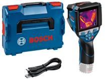 Infra termodetektor - teploměr Bosch GTC 600 C Professional - 12V, 0.64kg, kufr L-BOXX 136, bez akumulátoru a nabíječky (0601083508)