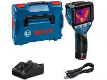 Infra termodetektor - teploměr Bosch GTC 600 C Professional - 1x aku 12V/2.0Ah, 0.6kg, kufr L-BOXX 136 (0601083500)