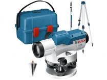 """Nivelační optický přístroj Bosch GOL 26 D Professional - 100m, 5/8"""", 1.5kg, stativ, příruční kufr (0601068002)"""